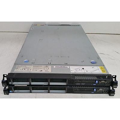IBM M2 Xeon CPU Servers - Lot of Two
