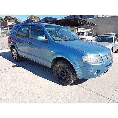 6/2006 Ford Territory GHIA (rwd) SY 4d Wagon Blue 4.0L