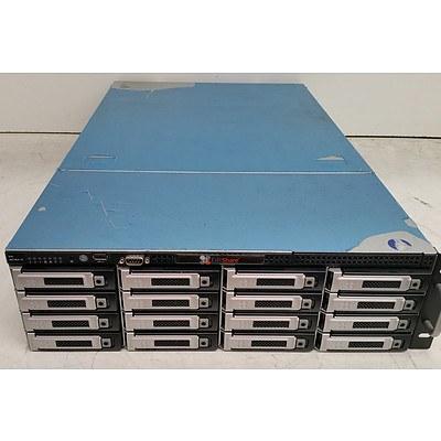 EditShare Hexa-Core Xeon (X5670) 2.93GHz Hard Drive Array w/ 32TB of Total Storage