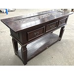 Cherry Stained Hall Table