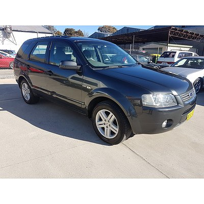 11/2006 Ford Territory GHIA (4x4) SY 4d Wagon Grey 4.0L