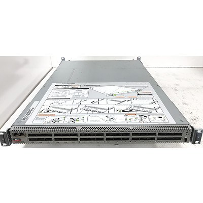 Sun Oracle Datacenter InfiniBand Switch 36