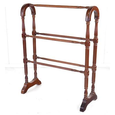 Reproduction Antique Style Towel Rack