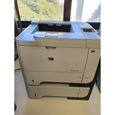 HP LaserJet P3015 Black & White Laser Printer