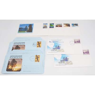 Group of Norfolk Island Stamp Covers