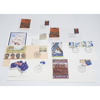 Group of Australian Stamps