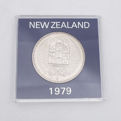 1979 New Zealand Coat of Arms Dollar