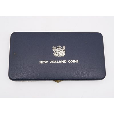 1968 New Zealand Proof Coin Set
