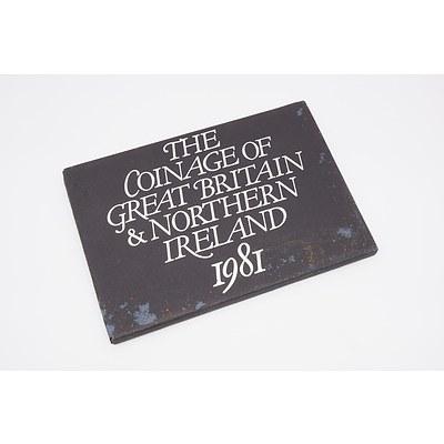 1981 Great Britain & Northern Ireland Proof Set