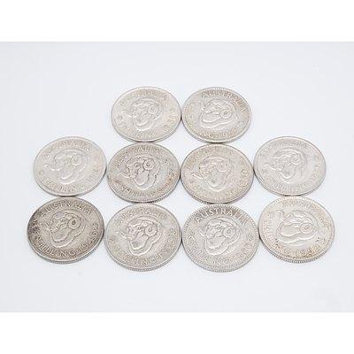 Ten Australian Shillings