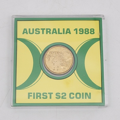1988 Australian First Two Dollar Coin