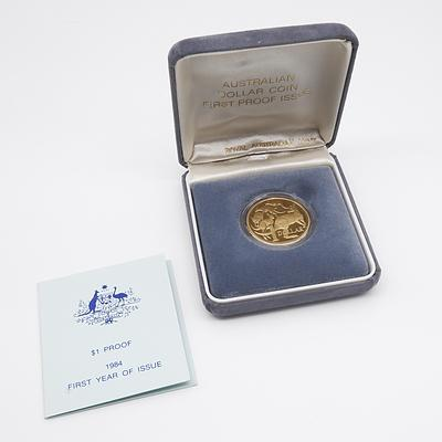 1984 First Year of Issue $1.00 Proof Coin