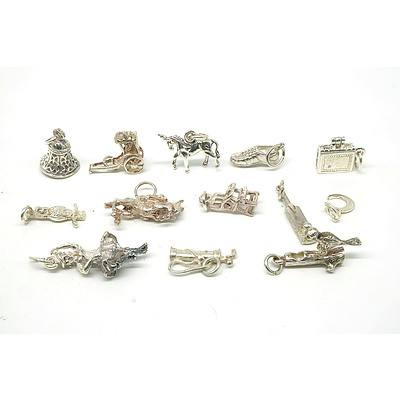 Sterling Silver Charms 25g