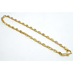 9ct Yellow Gold Gucci Type Link Bracelet