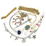Collection of Costume Jewellery, Including Turtle Brooch, Thistle Brooch and More