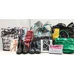 Bulk Lot of Brand New Shoes Bags & Accessories
