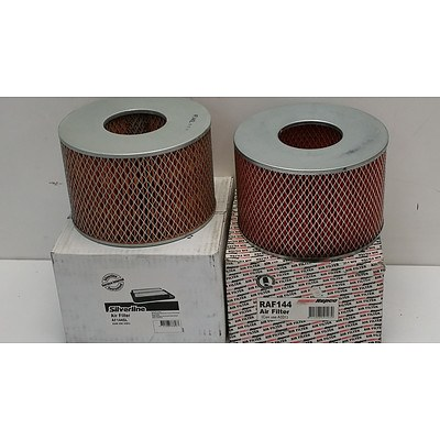 Silverline and Repco Air Filters To Suit Holden Jackaroo 2.2 Litre Diesel(1981 - 1992) - Lot of 33