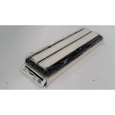 Silverline Air Filters To Suit Daihatsu Charade Centro L500 0.66 Litre(1998) - Lot of Eight - New