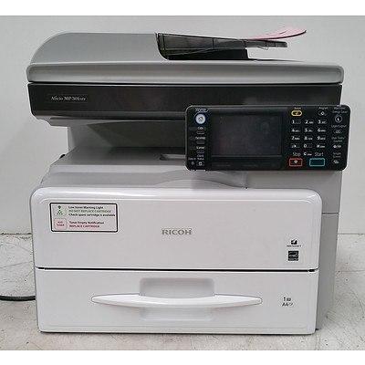 Ricoh Aficio MP301SPF Black & White Multi-Function Printer
