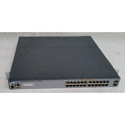 HP (J9573A) E3800-24G-2SFP+ 24-Port Gigabit Managed Switch