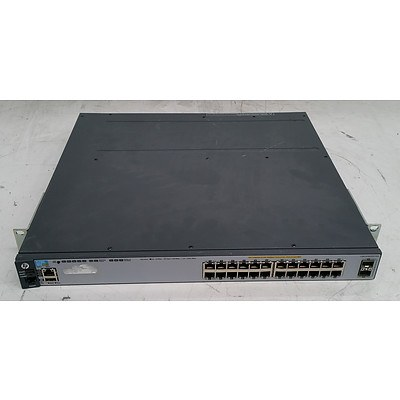 HP (J9573A) E3800-24G-2SFP+ 24-Port Gigabit Managed Switch