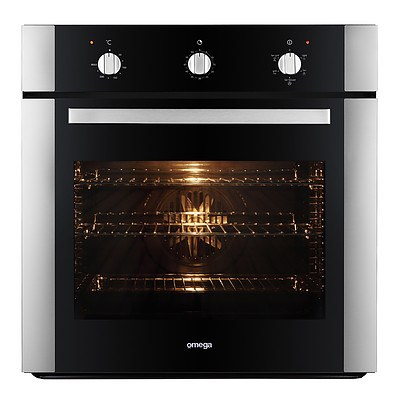 Omega OO657X 60cm Built In Electric Oven - RRP $899 - Brand New