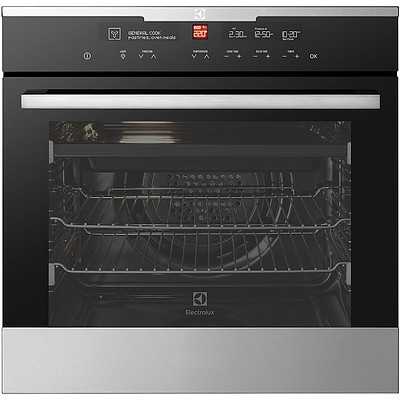 Electrolux EVE616SC 60cm Multi Function Built In Electric Oven with IOI Controller - RRP $2,099 - Brand New