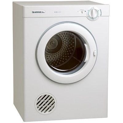 Simpson 39S600M 6kg Vented Sensor Tumble Dryer - RRP $715 - Brand New