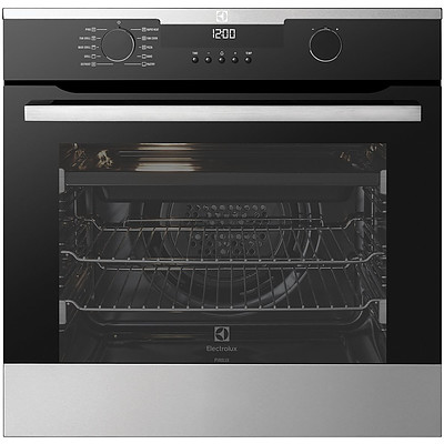 Electrolux EVEP614SC 60cm Multi Function Built In Electric Pyrolux Oven - RRP $2,399 - Brand New