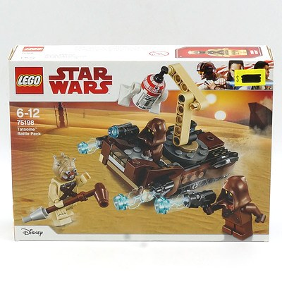 Star Wars Lego 75198 Tatooine Battle Pack, New