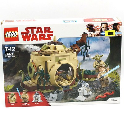 Star Wars Lego 75208 Yoda's Hut, New