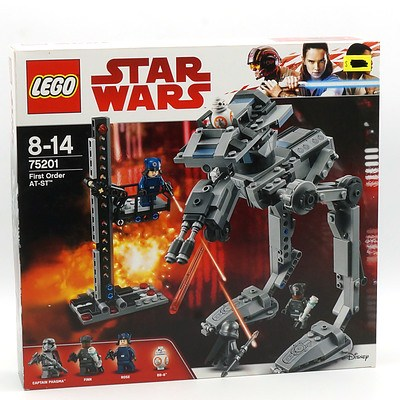 Star Wars Lego 75210 First Order AT-ST, New