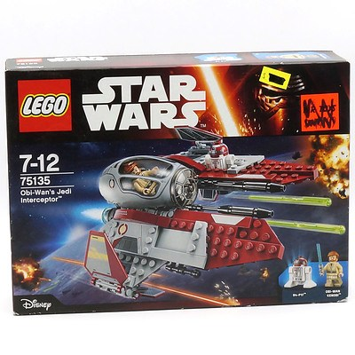 Star Wars Lego 75135 Obi-Wan's Jedi Interceptor, New