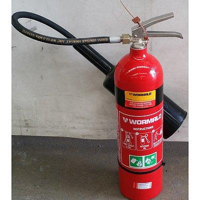 Wormald 3.5kg Carbon Dioxide Fire Extinguisher