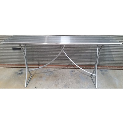 Stainless Steel Bar/Cafe Bench