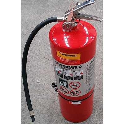 Wormald 9.0 Litre Air/Water Fire Extinguisher