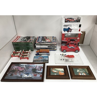 Mixed Motorsport Memorabilia