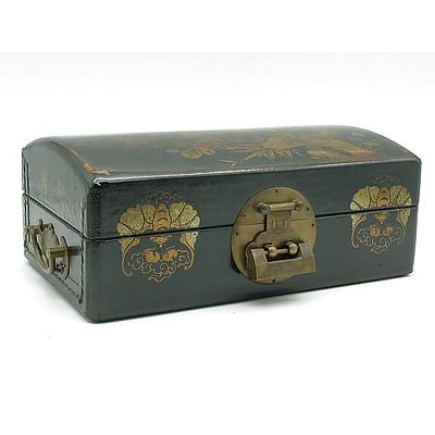 Chinese Erotic Jewellery Box, Modern