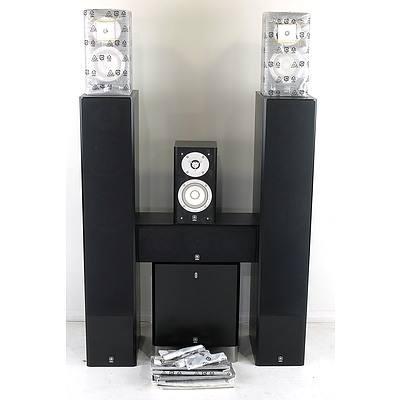 Yamaha Speaker Sound System Including Subwoofer
