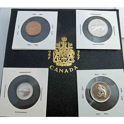 Canada Proof Coins (X4)