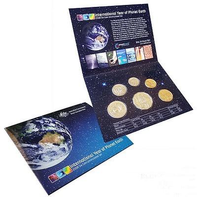 Australia 2008 Uncirculated 6 Coin Set