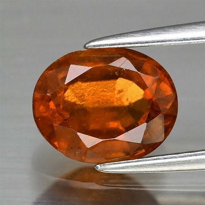 Natural Orange Hessonite Garnet