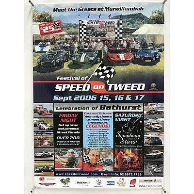 Nine Australian Car Festival Posters