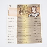 Ten Australian Uncirculated Sequential One Dollar Johnson/Stone Banknotes