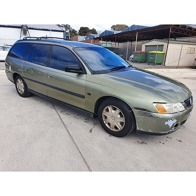 3/2004 Holden Commodore Executive VYII 4d Wagon Green 3.8L