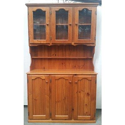 Vintage Kitchen Hutch