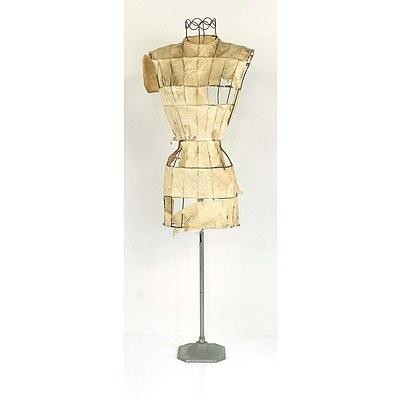 Vintage Dress Form Circa 1950's
