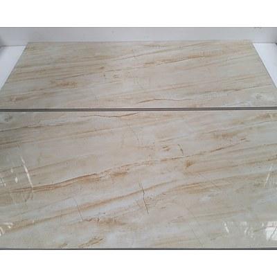 Rectangular Ceramic Floor/Wall Tiles - Lot of 36 Tiles(9 Square Meters) - Brand New