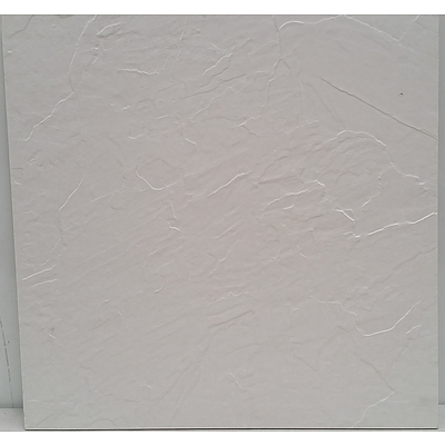 Square Ceramic Floor/Wall Tiles - Lot of 14 Tiles(Approx 4 Square Meters) - Brand New