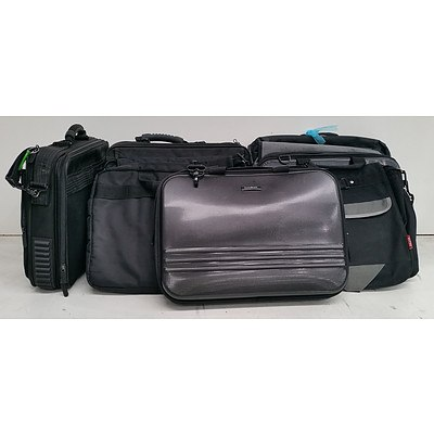 Assorted Laptop Carry Bags - Lot of Ten